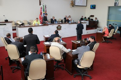 Vereadores aprovam quatro projetos em 43ª Sessão Ordinária