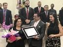 Pastora Glória recebe homenagem na Câmara