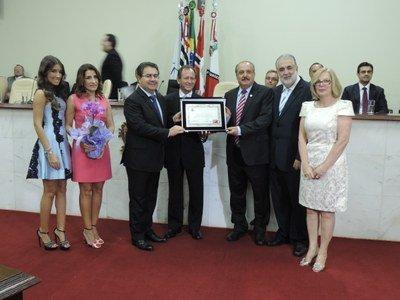 José Carlos Semenzato recebe título de cidadão rio-pretense